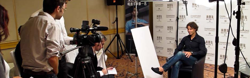 Behind the Scenes: Rafael Nadal Shoot @ The Shanghai Hilton